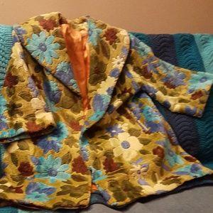 Jackets & Coats - Vintage Brocade Swing Jacket
